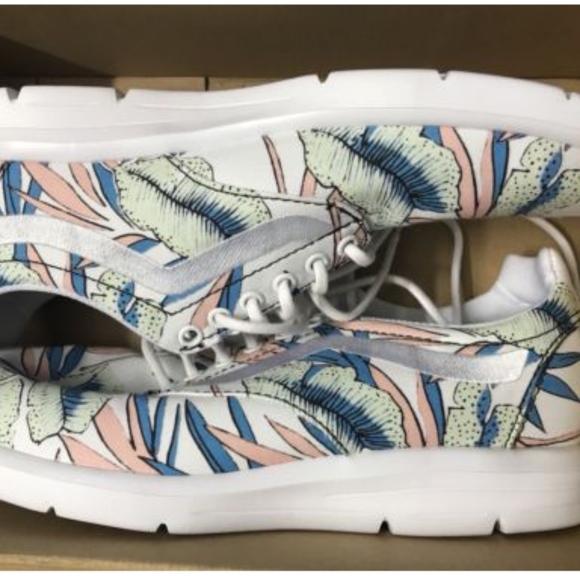 174dab6bd0 Vans Iso 1.5 Tropical Leaves True White Shoes